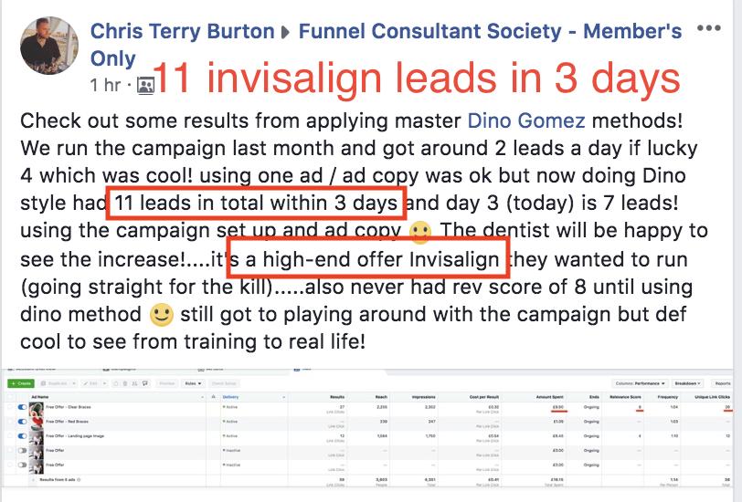Facebook Consultant Society