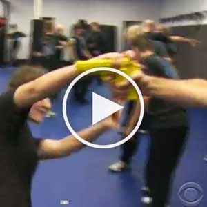 Texas Krav Maga Katy on CBS Evening News