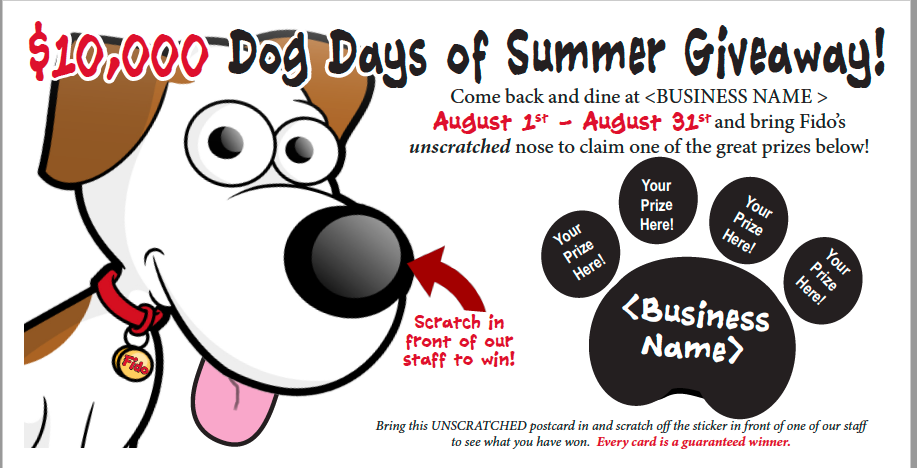 Dog Days of Summer Promotion