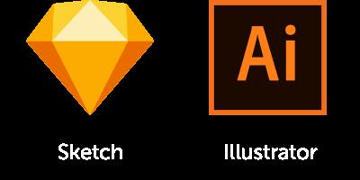 Funnel Flows Supported Software – Sketch, Adobe Illustrator