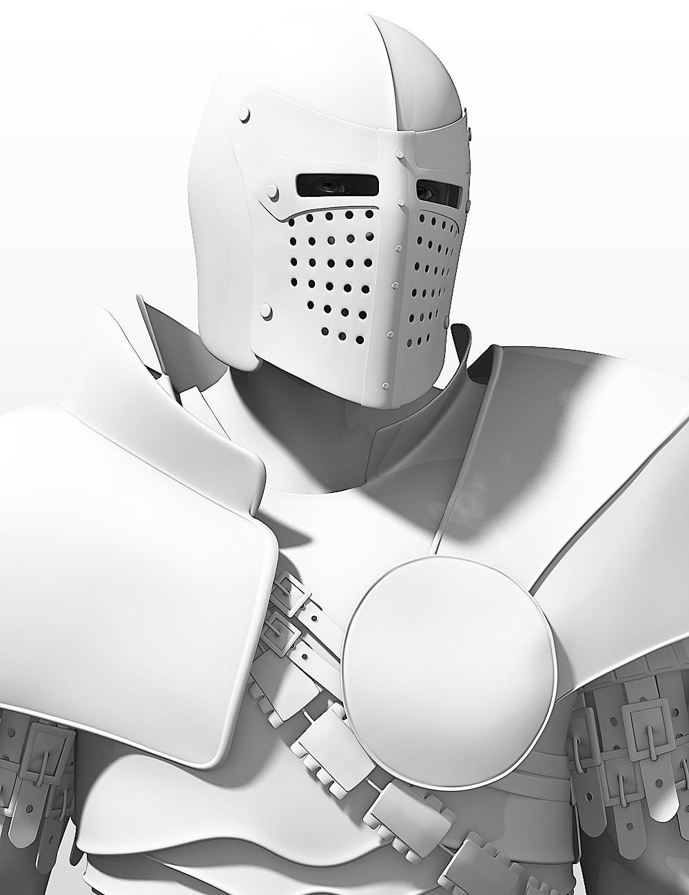 Bluebird 3D Recent Work Knight 1
