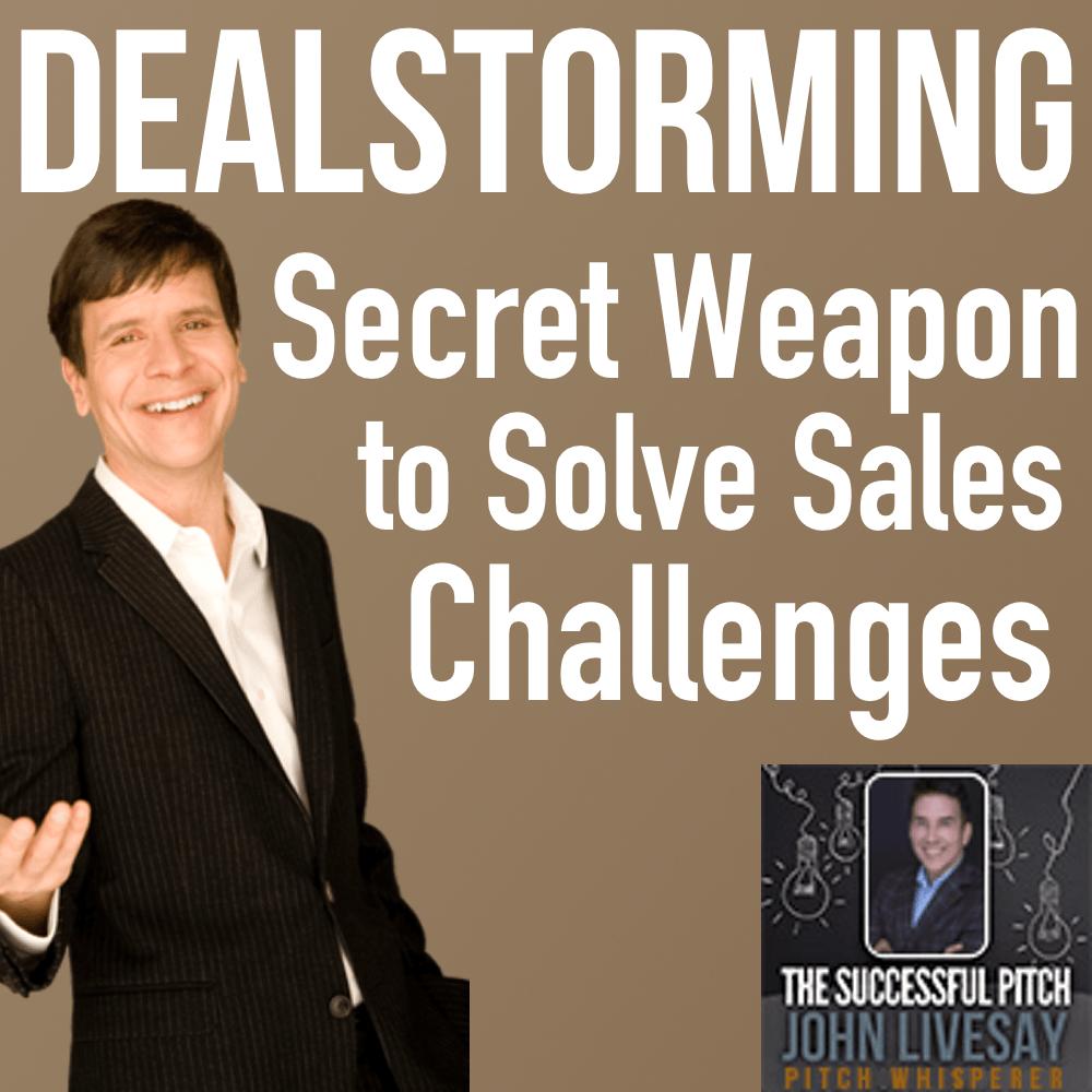 Dealstorming Tim Sanders Podcast Interview