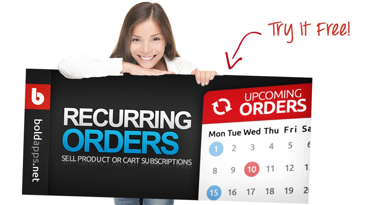 Recurring Orders by Bold Apps