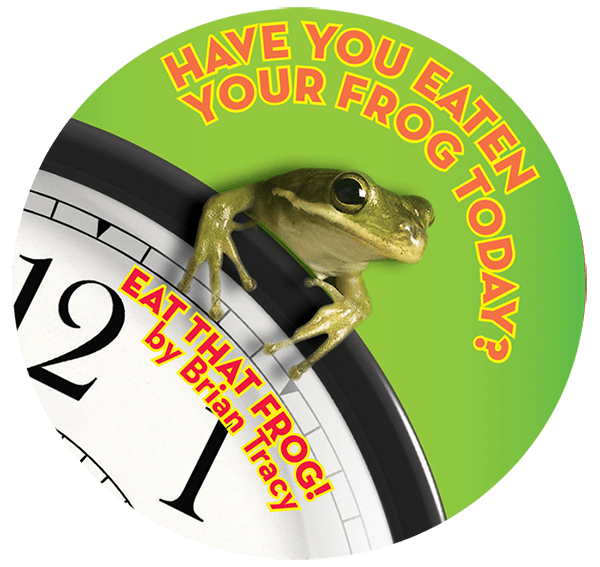 Eat That Frog! sticker