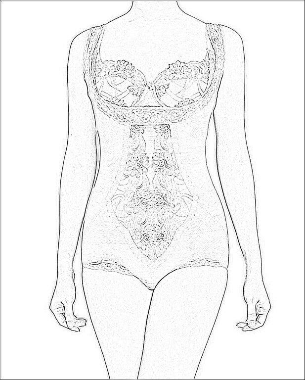 D'Elegance Bodysuit