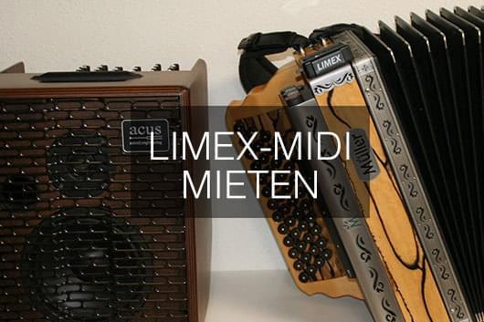 Midifizierte LIMEX-MÜLLER Harmonika mieten
