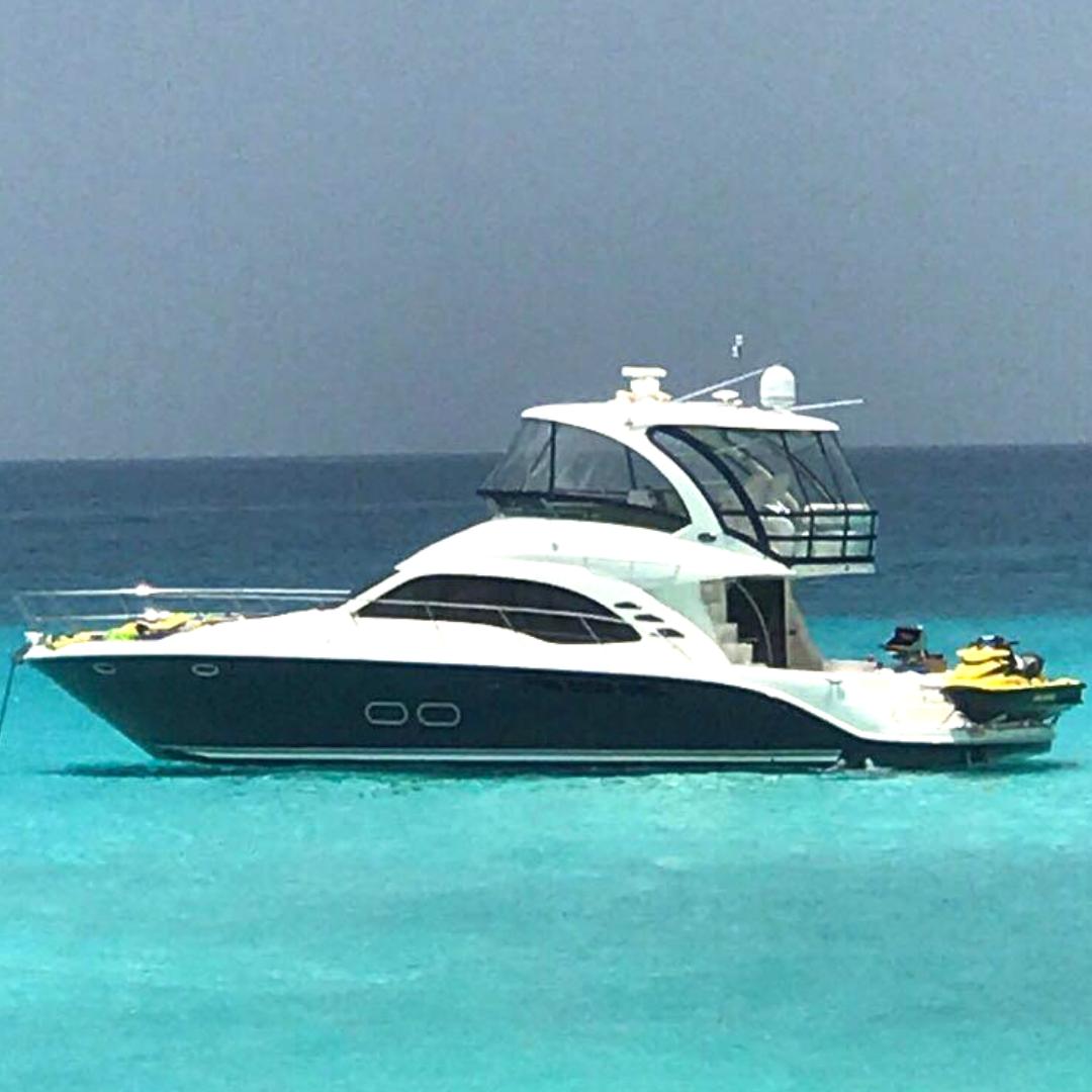 55' Sea Ray Sedan party yacht boat miami
