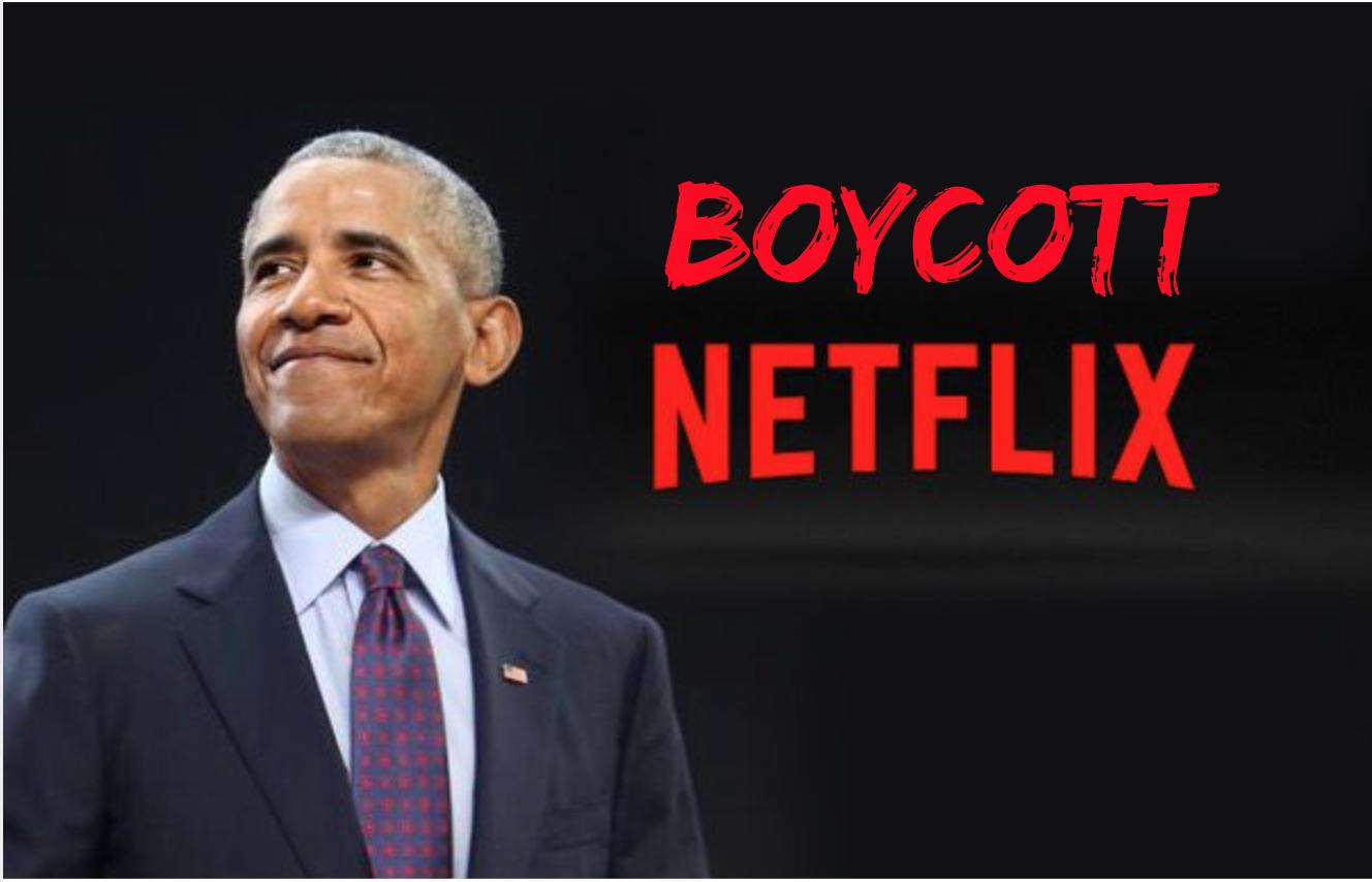 JOIN THE MOVEMENT: Boycott Netflix After Major Obama Deal