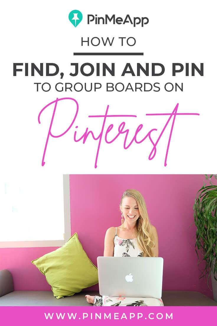 pinterest management, find, join pin to group boards