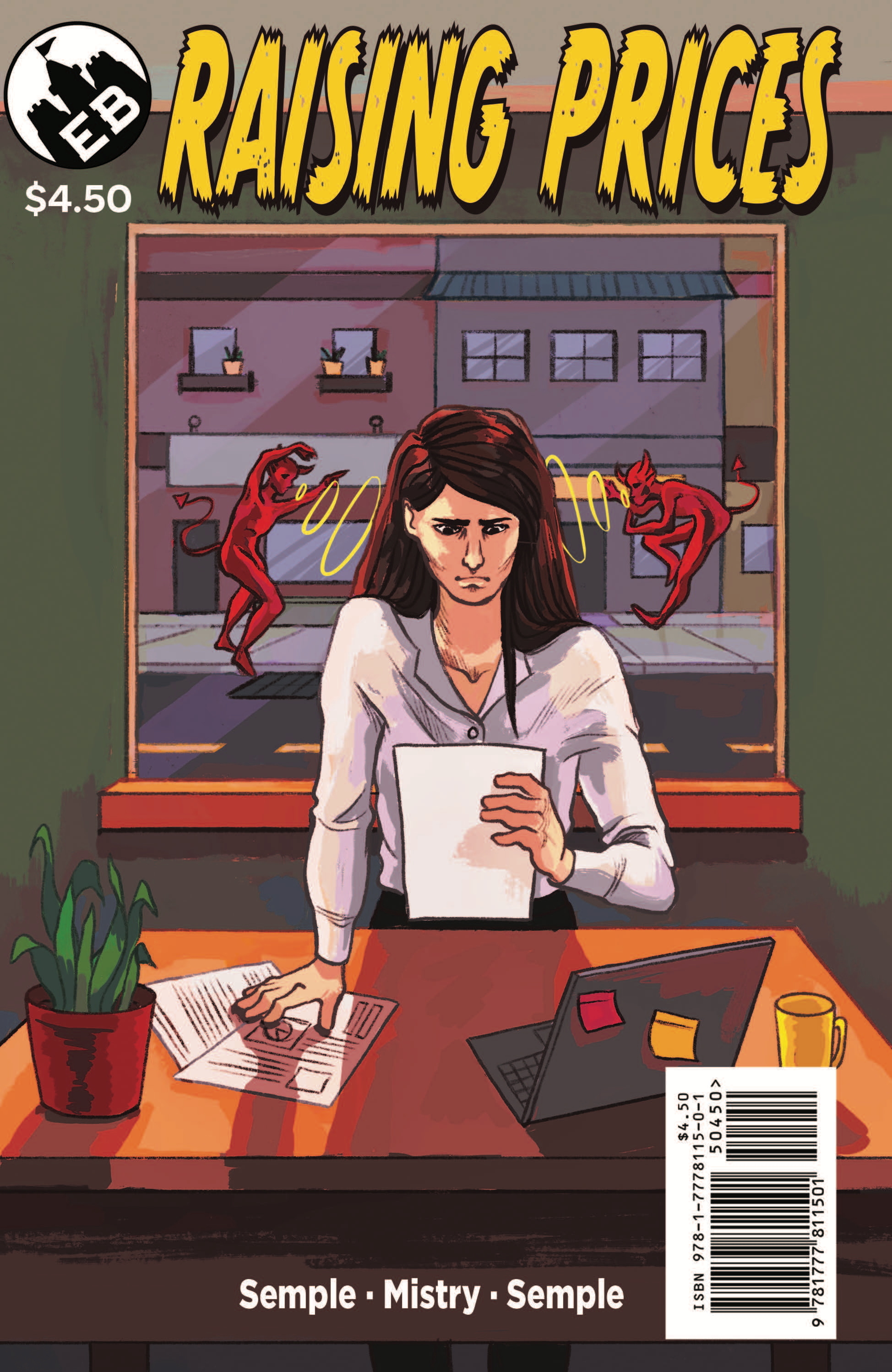 Raising Prices Comicbook
