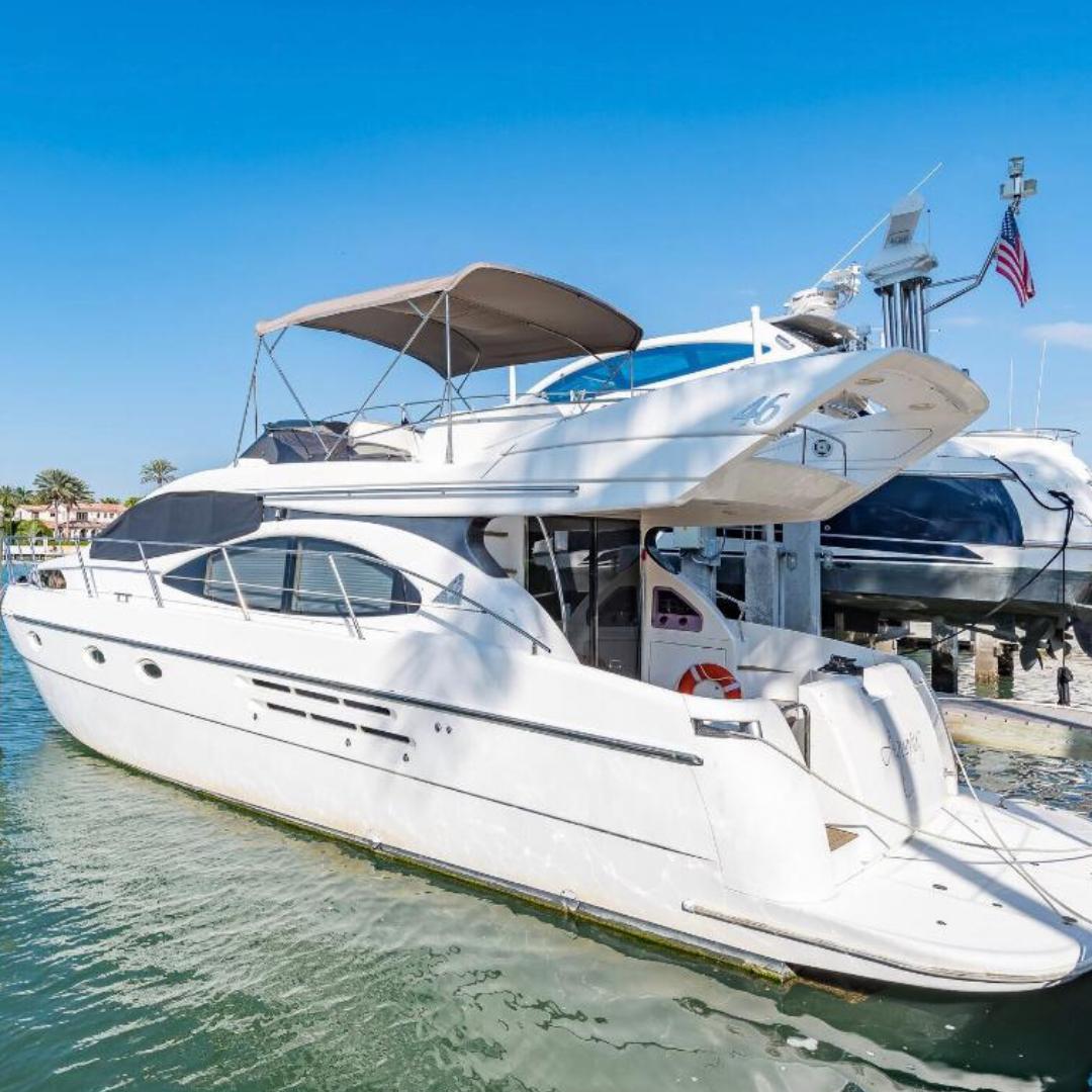 46' Azimut party yacht boat miami