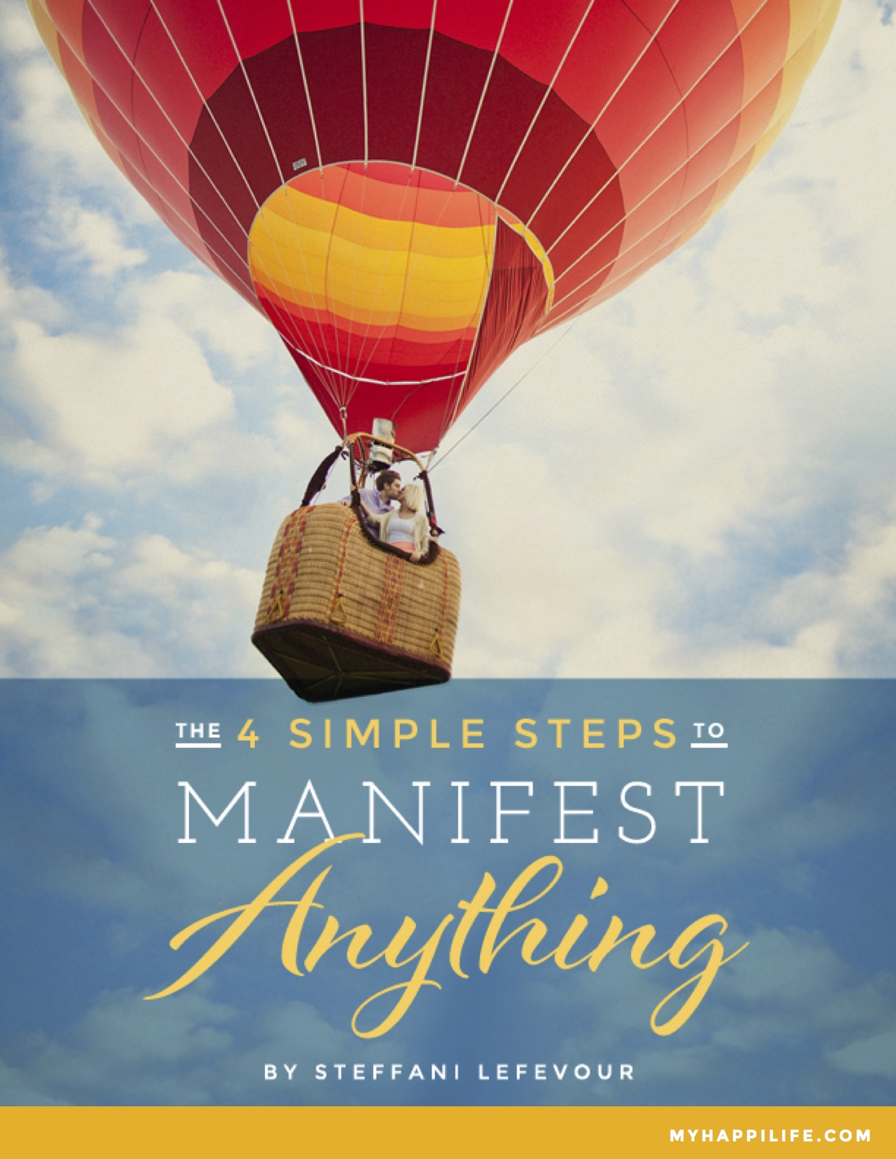 The 4 Simple Steps to Manifest Anything
