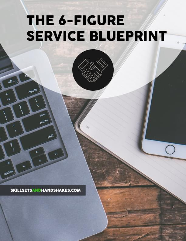 6-figure service blueprint