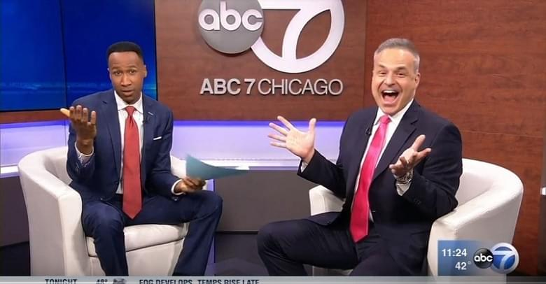 Financial advisor marketing consultant Clint Arthur on ABC7 Chicago