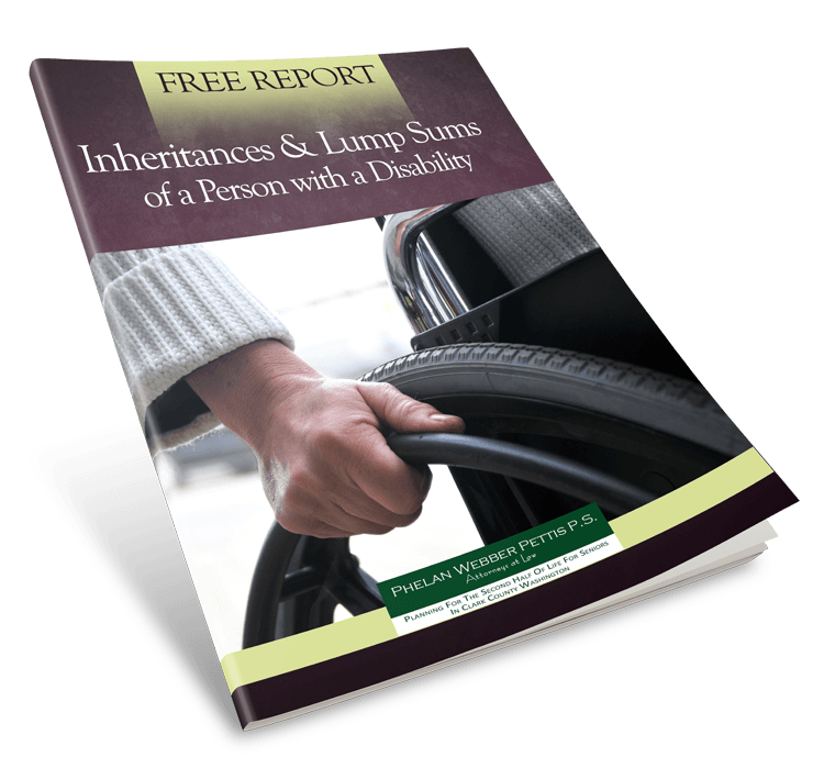 inheritances & lump sums of a person with a disability 3d cover