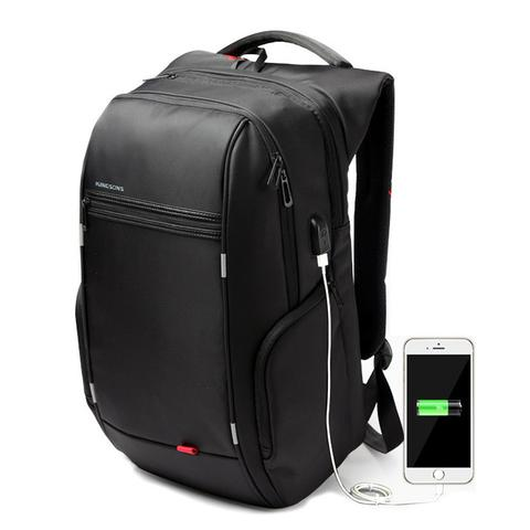 Charge As You Go USB Laptop Backpack