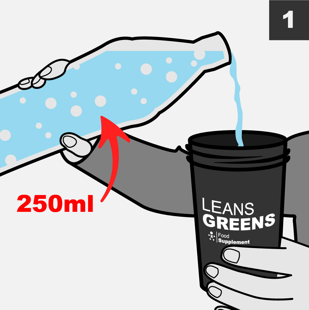 Mixing A Super Greens