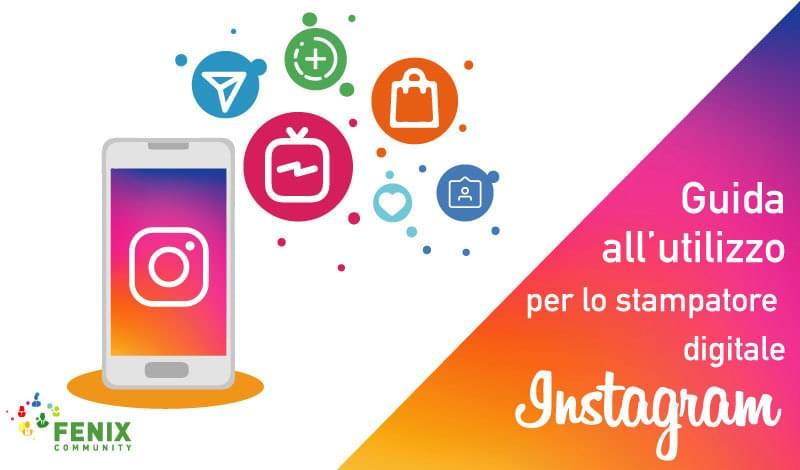 Fenix Community Corso Instagram per la stampa digitale di grande formato