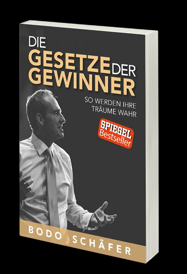 """Millionen- Bestseller """"Die Gesetze Der Gewinner"""", von Bodo Schäfer"""
