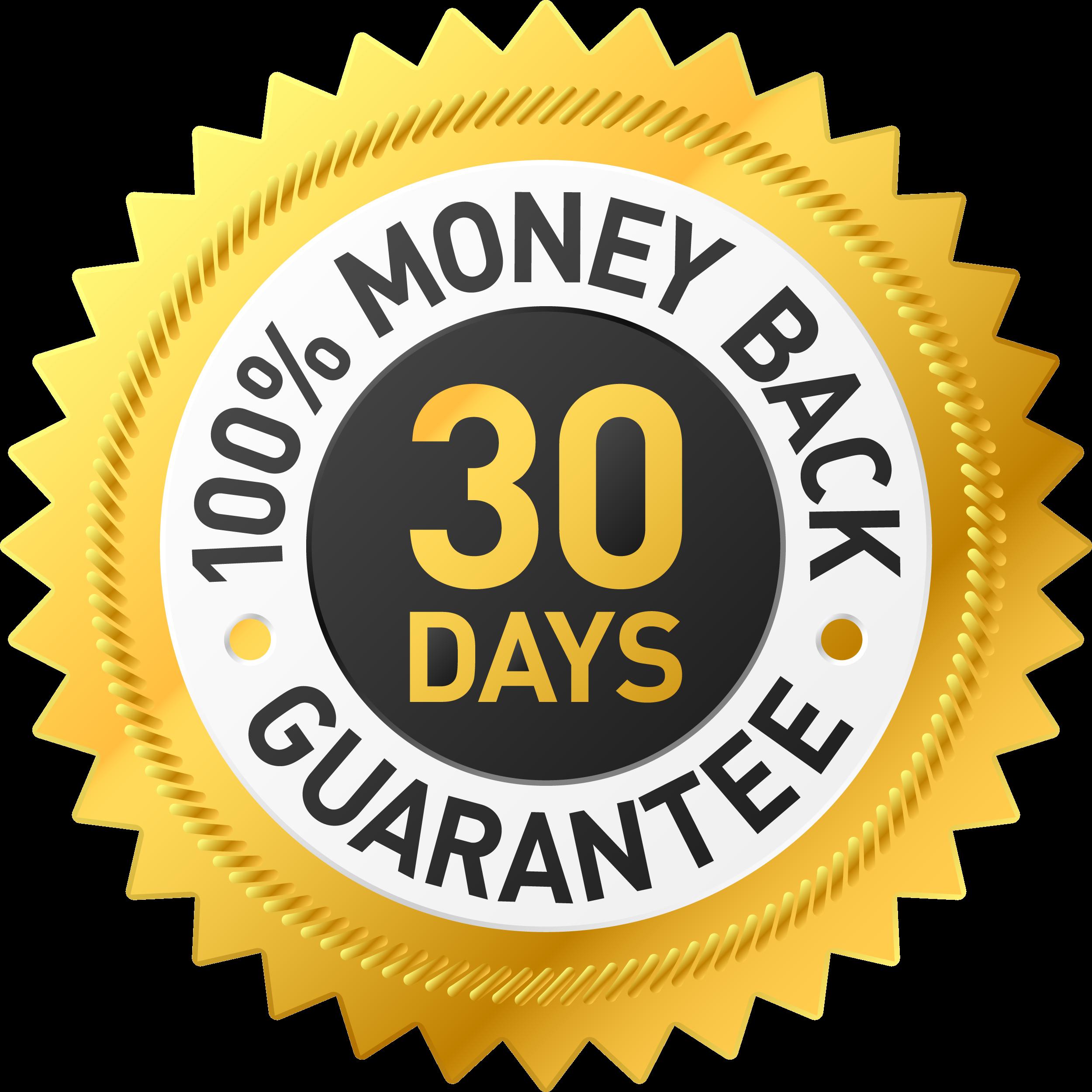 AIgsep 30 day money back guarantee transparent
