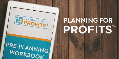 Planning for Profits Jeanine Blackwell