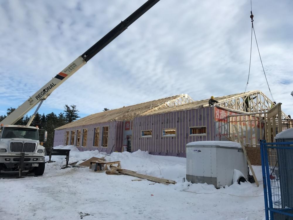 4000sqft Wood Framing