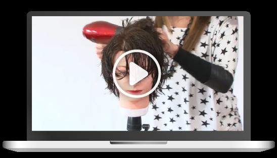 corso online di piega a phon hair academy