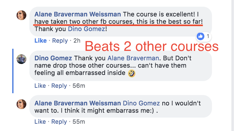 Dino Gomez Facebook Consultant Society