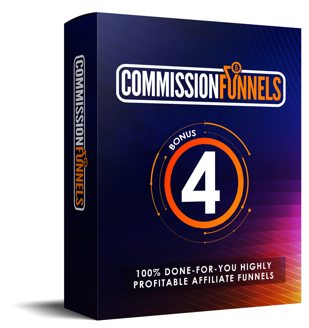 COMMISSION FUNNELS REVIEW: Massive Bonus+Discount+OTO+Demo 10