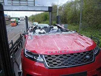 auto transport damage