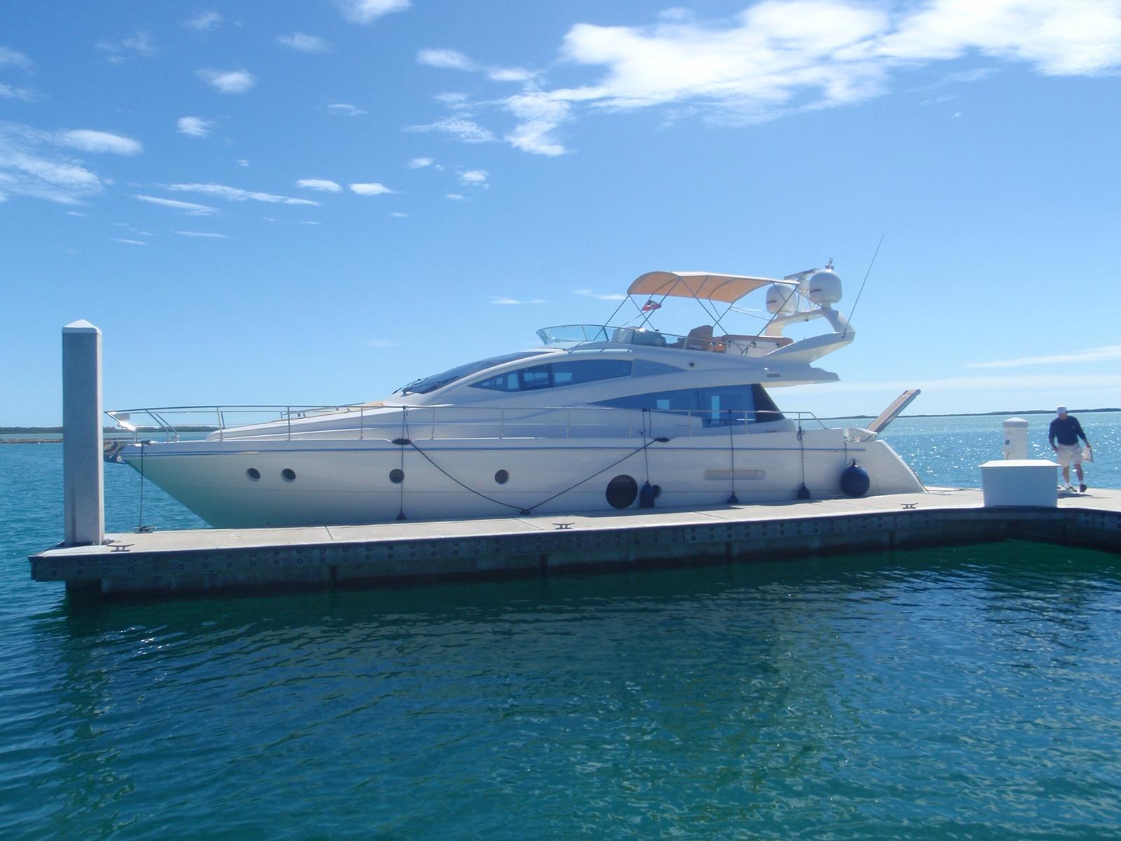 58' Aicon super party yacht boat miami