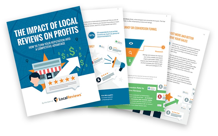 The impact of reviews on profits - ebook