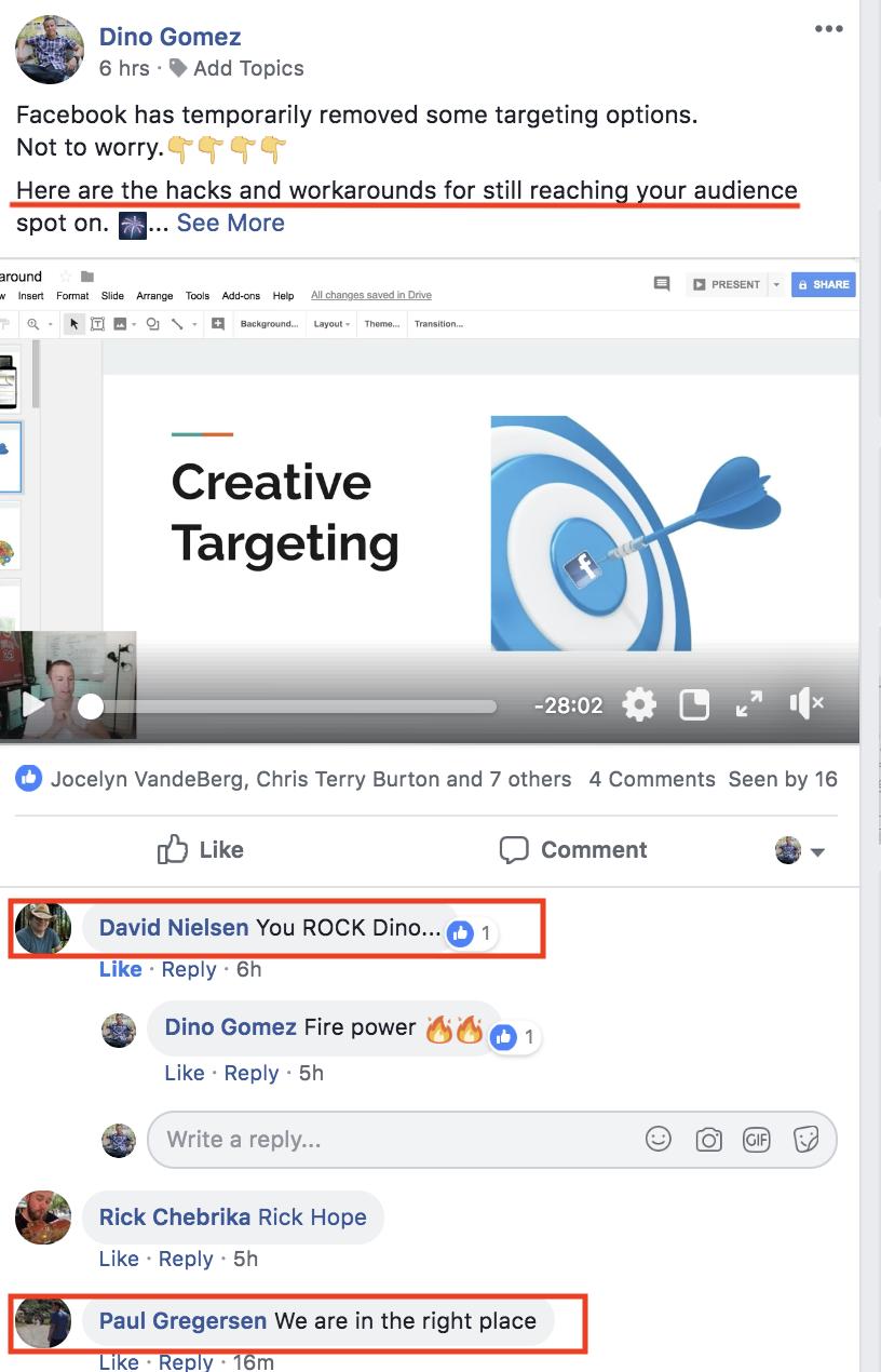 Dino Gomez Facebook Ads Expert